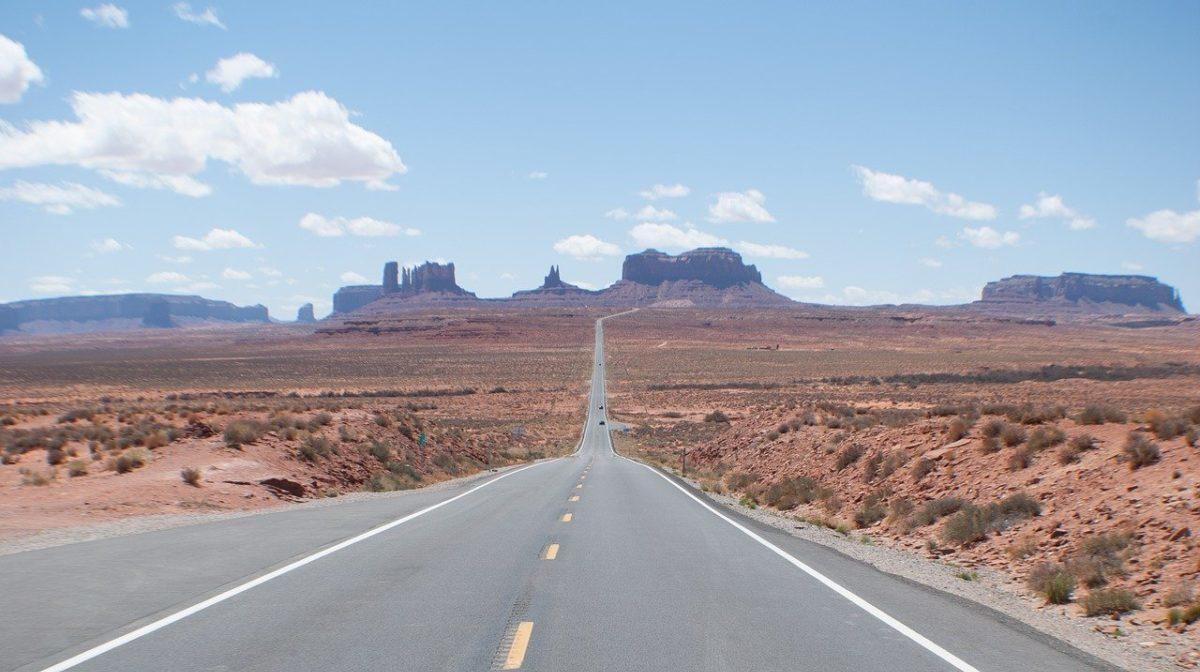 Forrest Gump road